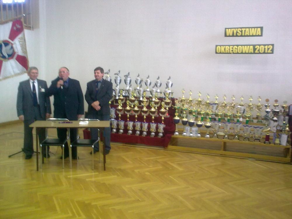 WYSTAWA OKRĘGOWA 2012R.